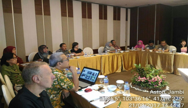 """AIAT Jambi Participated """"Enhancing The Benefits Of Tropical Peatland Restoration For Supporting Local Communities And Ecosystem Processes"""" NERC-DIPI- Newton Workshop"""